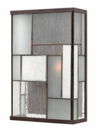 Hinkley 2154KZ Mondrian Large 2-light ADA Compliant Craftsman Outdoor Wall Sconce