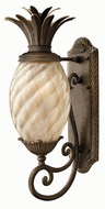 Hinkley 2120-PZ Plantation Tropical Outdoor Wall Sconce with Fluorescent Option - 22 inches tall