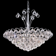Elegant 2001D22C-RC Godiva Crystal 20  Chrome Hanging Light Fixture