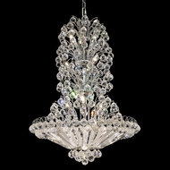 Elegant 2908D28C-RC Sirius Crystal 36  Hanging Light Fixture With Chrome Finish