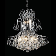 Elegant 8001D19C-RC Toureg Chrome 23  Tall Crystal Drop Lighting