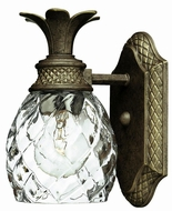 Hinkley 5310PZ Plantation Bronze Tropical One Light Wall Sconce