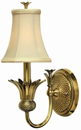 Hinkley 4880BB Brass Plantation Single Light Wall Sconce