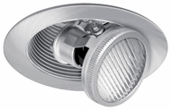 Liton LR1383 3 Inch Low Voltage Halogen Downlight Contemporary Recessed Pull Down Adjustable Baffle Trim