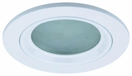 Liton LR1342 3 Inch Low Voltage Halogen Downlight Modern Recessed Deco Frosted Diffuser Trim
