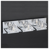 PLC 18173 Cielo 3-light Contemporary Vanity Light