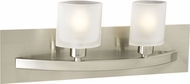 PLC 642 Wyndham Contemporary 2 Light Bathroom Light Fixture