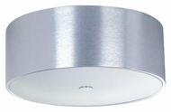 ET2 E22700-77 Percussion Flush Mount 16 Inch Diameter Polished Chrome Modern Ceiling Light