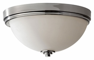 Feiss FM373PN Malibu Large 15 Inch Diameter Polished Nickel Flush Lighting