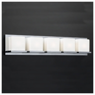 PLC 18155 Furlux 5-light Contemporary Vanity Light