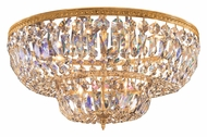 Crystorama 730-OB-CL-MWP Richmond Crystal 30 Inch Diameter Olde Brass Ceiling Lighting