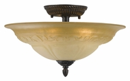 Crystorama 6313-A-VB Oxford Large 16 Inch Diameter Traditional Overhead Lighting - Venetian Bronze