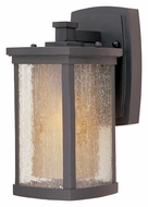 Maxim 85652CDWSBZ Bungalow EE Fluorescent Bronze Transitional Exterior Sconce - Small