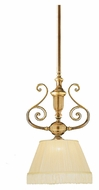 Crystorama 1370-RB 14 Inch Diameter Roman Bronze Finish Antique Ceiling Light