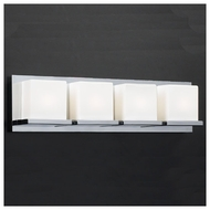 PLC 18154 Furlux 4-light Contemporary Style Vanity Light