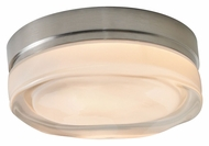 Tech Fluid Round 6 Inch Wide Contemporary Flush Mount Lighting - Small