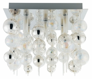 EGLO 89158A Morfeo 15 Inch Wide Medium Chrome Ceiling Lighting Fixture