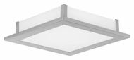 EGLO 86238A Auriga 11 Inch Wide Transitional Matte Nickel Wall Or Ceiling Light Fixture