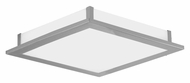 EGLO 88089A Auriga Transitional Matte Nicekl Finish 12 Inch Wide Wall Sconce Or Ceiling Light - 28W