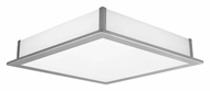 EGLO 89453A Auriga Extra Large Matte Nickel Finish 19 Inch Wide Wall Or Ceiling Light Fixture