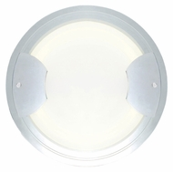 EGLO 90668A Aniko Large 16 Inch Diameter Circular Chrome Wall Light Sconce