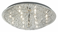EGLO 90148A Cromer Flush Mount Large 19 Inch Diameter Branch Pattern Ceiling Light Fixture