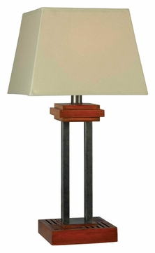 32195cygy hadley 32 inch tall cherry finish living room table lamp. Black Bedroom Furniture Sets. Home Design Ideas