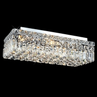Elegant 2034F20C-RC Maxim Medium Crystal Flush Lighting