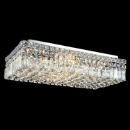 Elegant 2034F24C-RC Maxim Large Flush Mount Crystal Ceiling Lighting