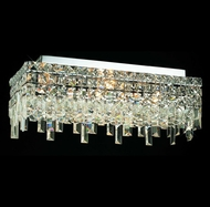 Elegant 2035F20C-RC Maxim Medium 20  Crystal Ceiling Flush Lighting