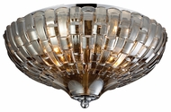 ELK 31250/2 Crystal Flushmounts 12 Inch Diameter Overhead Lighting Fixture - Polished Chrome