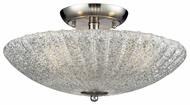ELK 10271/3 Luminese 8 Inch High Semi Flush Mount Ceiling Light Fixture