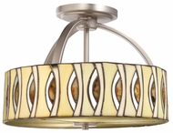 Kichler 65362 Pluto 16 Inch Long Semi Flush Mount Ceiling Light
