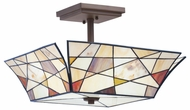 Kichler 69159 Shazam 3 Light Semi Flush Overhead Lighting Fixture