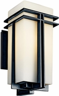 Kichler 49203BK Tremillo Art Deco Incandescent Outdoor Wall Fixture - Large (20.5 )