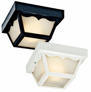 Kichler 11027 Fluorescent 9 Inch Diameter Square Ceiling Light Fixture