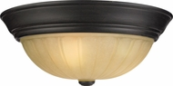 Quoizel TL184EP Tradewinds Large Traditional 16 Inch Diameter Flush Mount Lighting Fixture