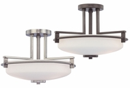 Quoizel TY1716 Taylor Large Contemporary Semi Flush Overhead Light Fixture