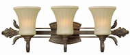 Hinkley 5413-GB (Clearance) Willow Bronze Three Light Bath Light