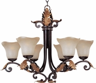 Maxim 11605-WSWB(OSS) Noble Traditional 5 Light Chandelier (Over-Stock Sale)