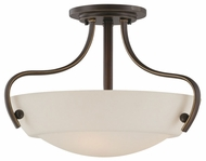 Quoizel CY1718PN Chantilly Opal Glass 18 inch Diameter Overhead Lighting Fixture