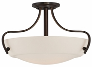 Quoizel CY1722PN Chantilly 22 inch Diameter Transitional Semi Flush Mount Ceiling Light Fixture