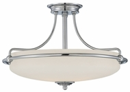 Quoizel GF1721C Griffin Chrome Large Overhead Lighting - Transitional Style