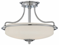 Quoizel GF1717C Griffin Medium Transitional 17 inch Diameter Transitional Home Ceiling Lighting