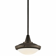 Kichler 42134OZ Fremont 9  Bronze Duo-mount Pendant Lamp/Ceiling Lighting
