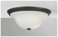 Feiss FM362ORB Beckett Modern Large Flush Mount Ceiling Lighting in Oil Rubbed Bronze