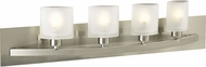 PLC 644 Wyndham Contemporary 4 Light Bathroom Light Fixture
