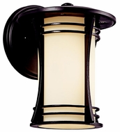 Kichler 49260AZ Courtney Point Small Exterior Craftsman Wall Sconce