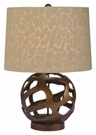 Kichler 70871 Baringo Contemporary 18 Inch Tall Bronze Table Lamp