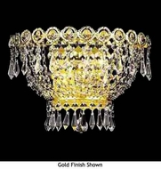 Worldwide 23020 Worldwide 2-light Crystal Style Empire Wall Sconce